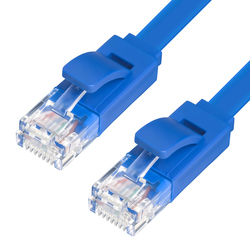 Патч-корд UTP кат. 6, RJ45 0.5м (Greenconnect GCR-LNC621-0.5m) (синий)