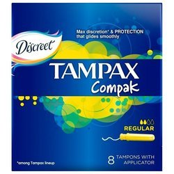 Тампоны TAMPAX Compak Regular