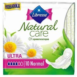Прокладки Libresse Natural Care Ultra Normal