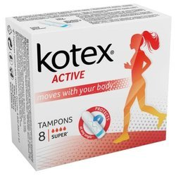 Тампоны Kotex Active Super