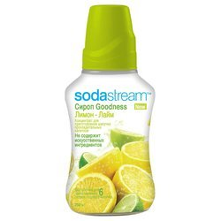 Сироп SodaStream Goodness Лимон-Лайм 750 мл (на 6 л напитка)