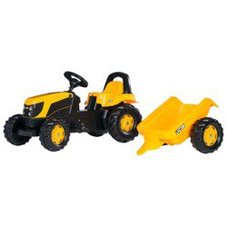 Веломобиль Rolly Toys Kid JCB (012619)