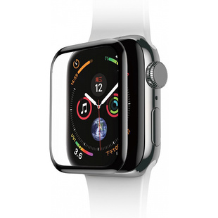 Защитное стекло для Apple Watch 42mm (Baseus Curved Tempered Glass SGAPWA4-D01) (черный)
