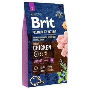 Корм для собак Brit Premium by Nature Junior S