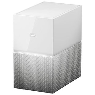Сетевой накопитель (NAS) Western Digital My Cloud Home Duo 4 TB (WDBMUT0040JWT)