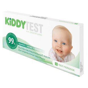 Тест Kiddy Test на овуляцию