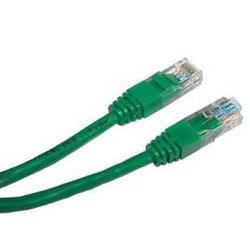 Патч-корд U/UTP Cat.5е 3 м (Hyperline PC-LPM-UTP-RJ45-RJ45-C5e-3M-LSZH-GN) (зеленый)